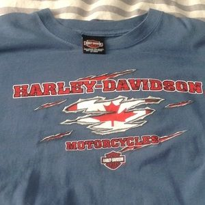 Harley Ottawa t shirt